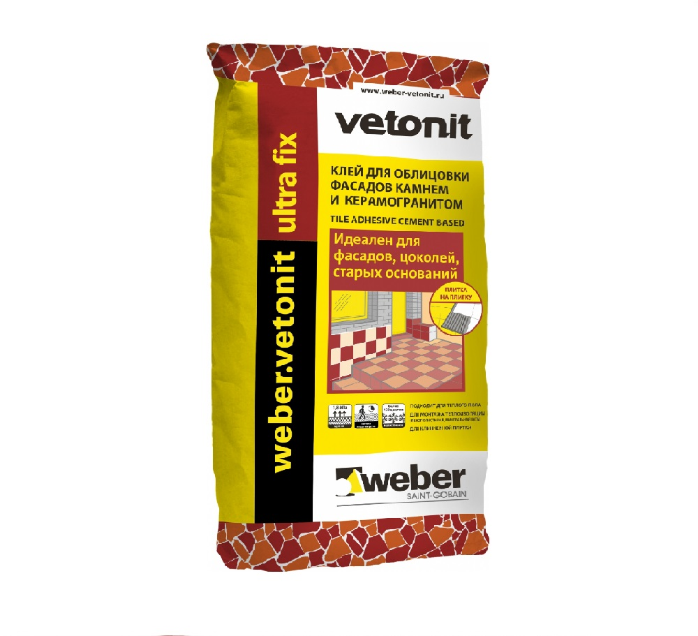 WEBER VETONIT ULTRA FIX, 25кг